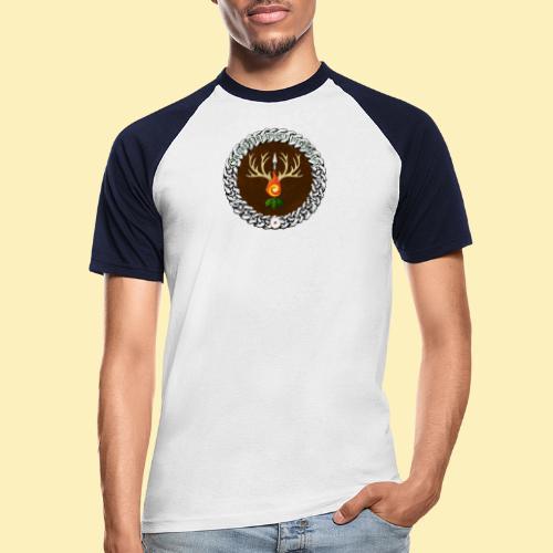 Médaillon de Neved - T-shirt baseball manches courtes Homme