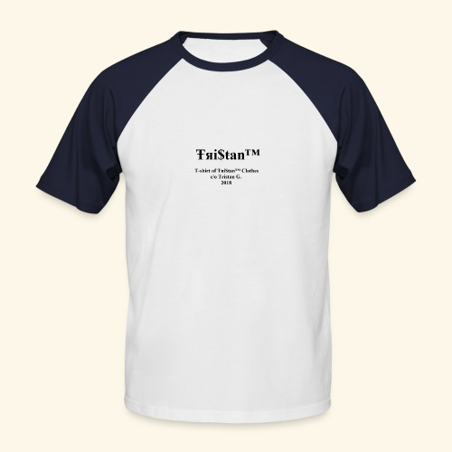 Collection 2 Ŧяi$ŧan™ Clothes - T-shirt baseball manches courtes Homme