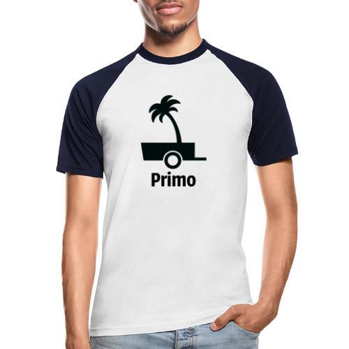 Primo Groot - Mannen baseballshirt korte mouw