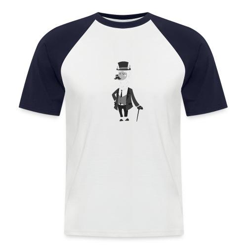Gentle Llama - Kortærmet herre-baseballshirt