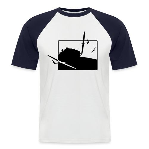 slope soaring - Männer Baseball-T-Shirt