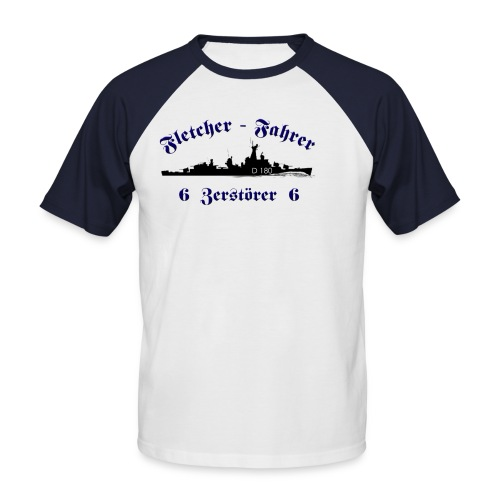 fletcherfahrerZ6 - Männer Baseball-T-Shirt
