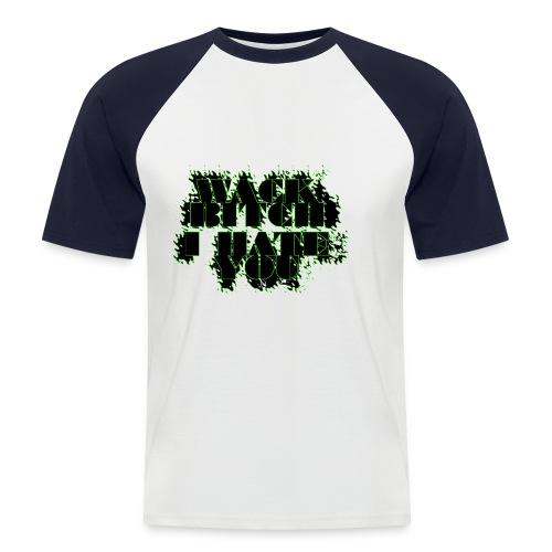 hate you copy - Kortermet baseball skjorte for menn