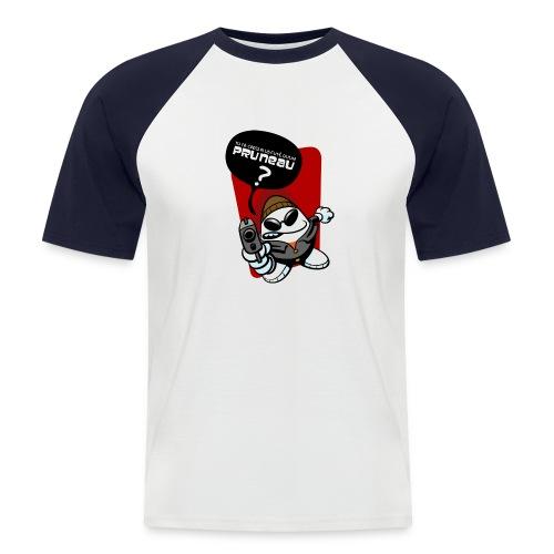 Pruneau - T-shirt baseball manches courtes Homme