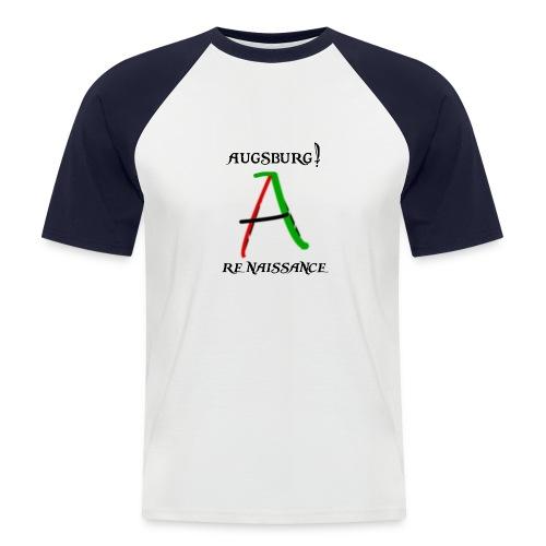 logoaarennaissance - Männer Baseball-T-Shirt