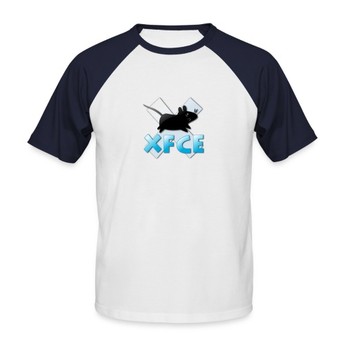 xfce logo - Men's Baseball T-Shirt