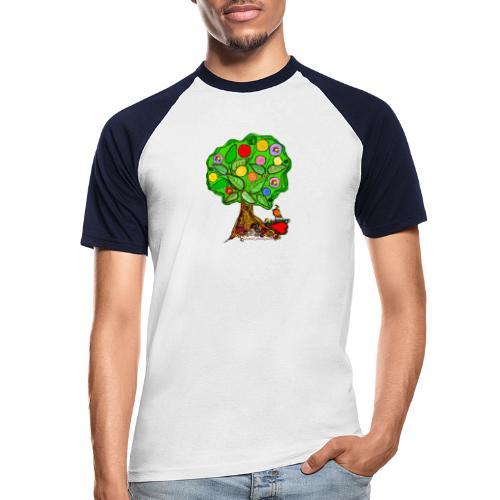 LebensBaum - Männer Baseball-T-Shirt