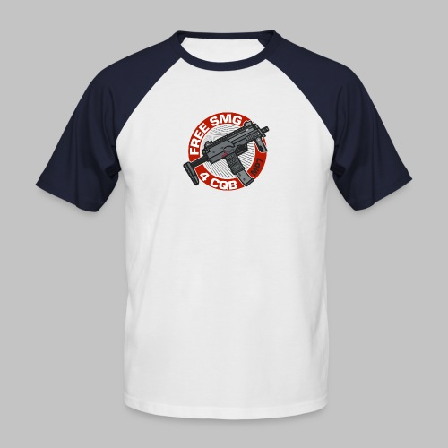 Free SMG - T-shirt baseball manches courtes Homme