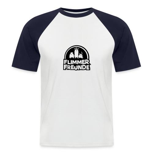 motiv 7 flimmerfreunde - Männer Baseball-T-Shirt