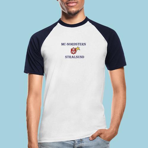 mcn_schrift - Männer Baseball-T-Shirt