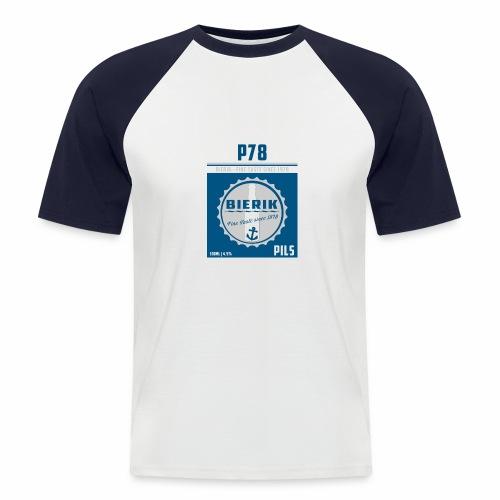BIERIK PILS jpg - Männer Baseball-T-Shirt