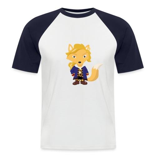 Renard Guybrush - T-shirt baseball manches courtes Homme