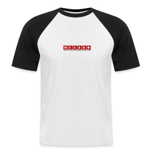 weebbswissclothesdesignf - Men's Baseball T-Shirt