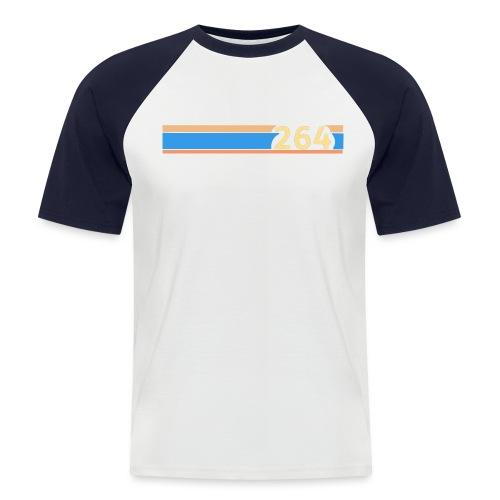 264 chest line - Men's Baseball T-Shirt