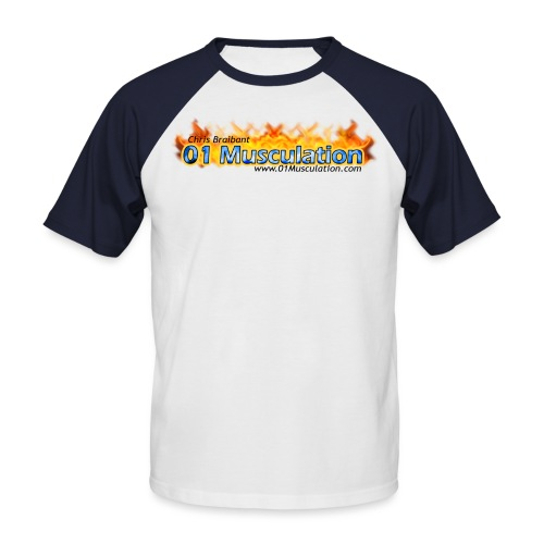 logotshirt - T-shirt baseball manches courtes Homme