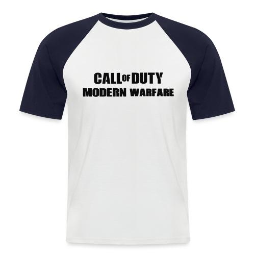 CoD Modern Warfare - Männer Baseball-T-Shirt