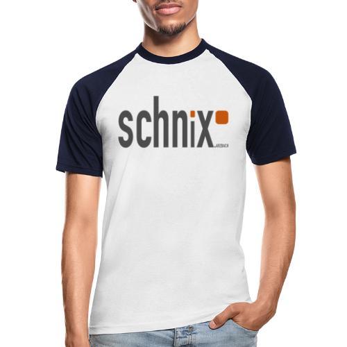 Schnix gif - Männer Baseball-T-Shirt