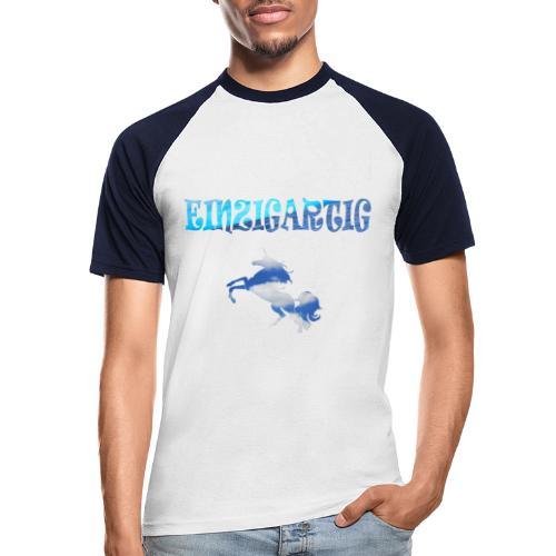 Einzigartig - Männer Baseball-T-Shirt