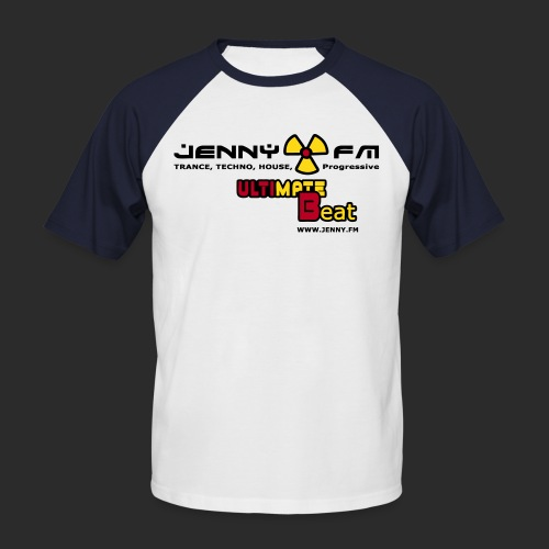 jennyultimatebeat - Männer Baseball-T-Shirt