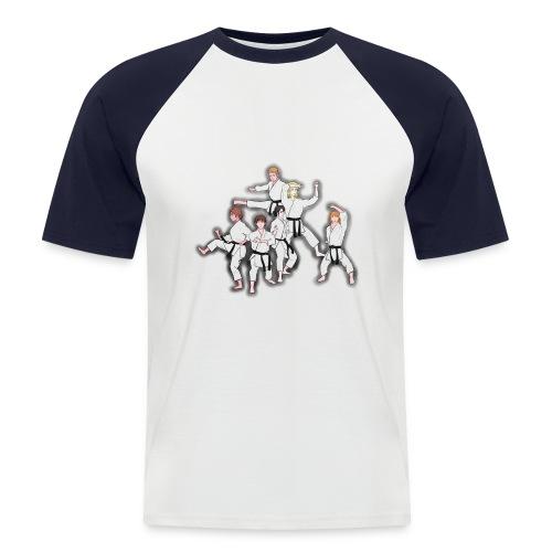 Karate - Men's Baseball T-Shirt