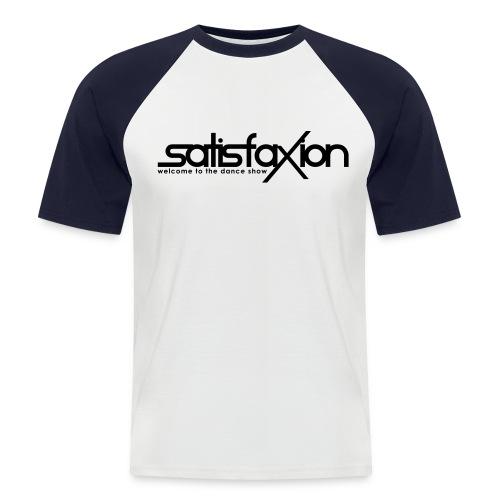 SatisfaXion Wear - Camiseta béisbol manga corta hombre