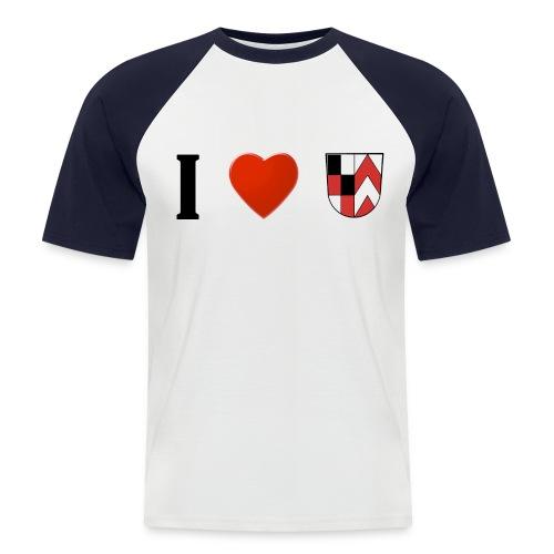 I love Bernstein - Männer Baseball-T-Shirt