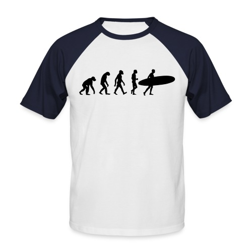 Surf Evo - Men's Baseball T-Shirt