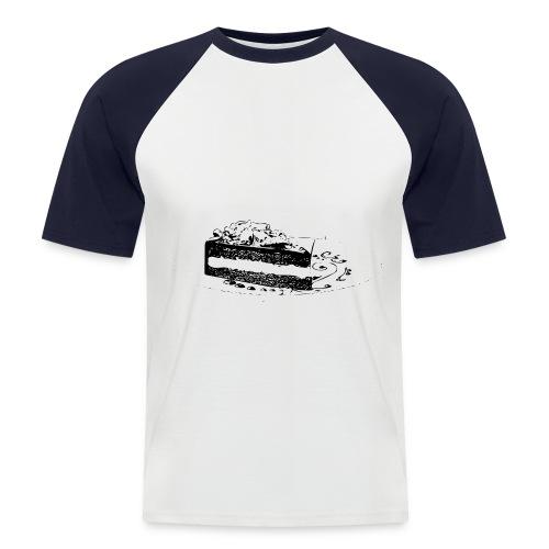 cake - Men's Baseball T-Shirt