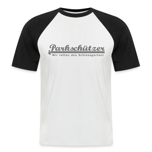 ps wir retten den schlossgarten 20cm - Männer Baseball-T-Shirt