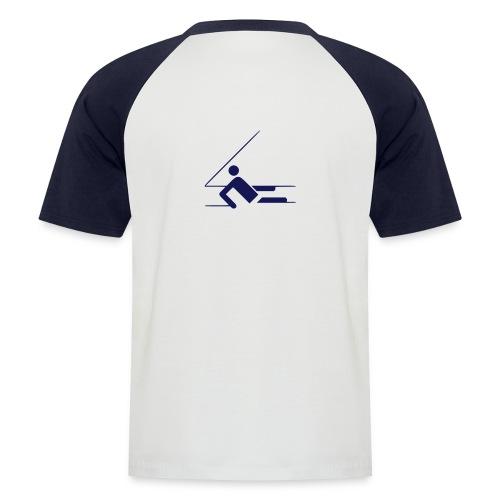 segeln3 - Männer Baseball-T-Shirt