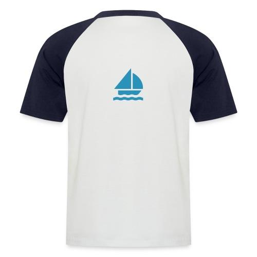 segeln2 - Männer Baseball-T-Shirt