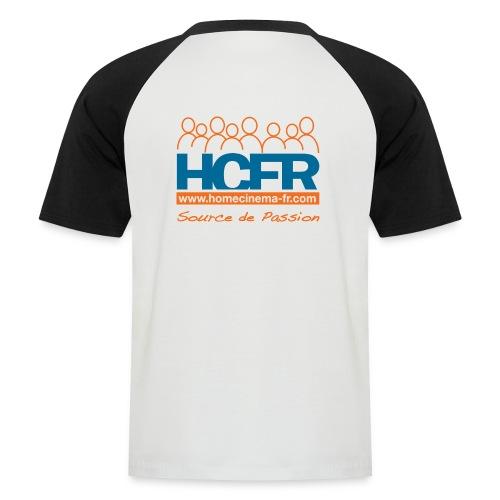 logo hcfr blanc 400 - T-shirt baseball manches courtes Homme