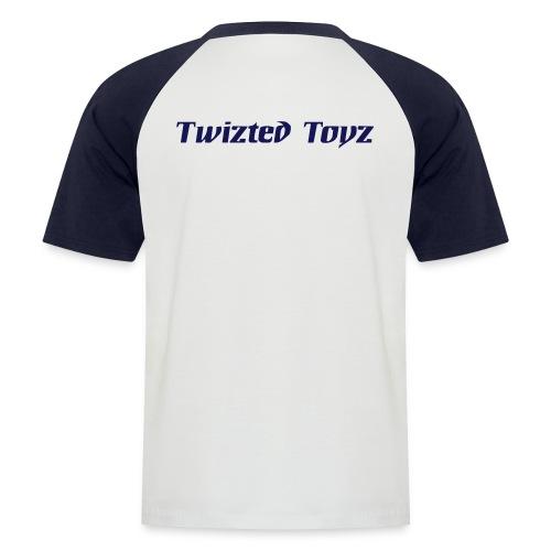toyzlogo1farbe - Männer Baseball-T-Shirt