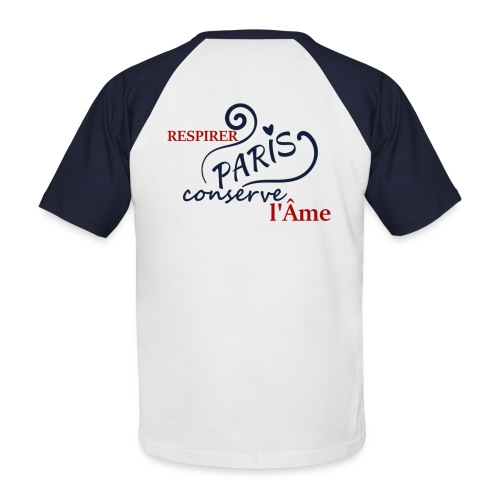 lame png - T-shirt baseball manches courtes Homme