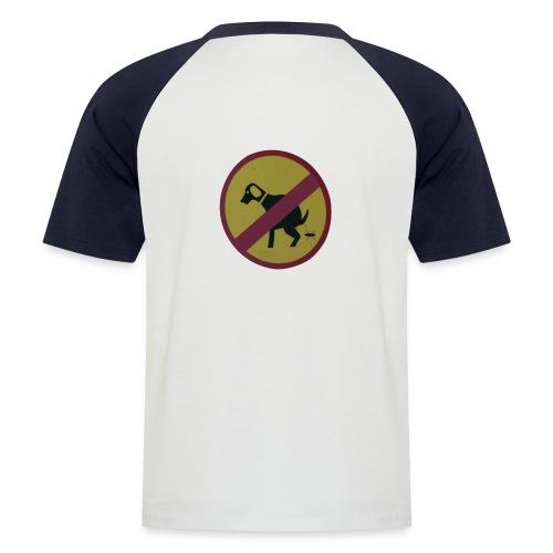 psie gownogotowy gotowy - Koszulka bejsbolowa męska