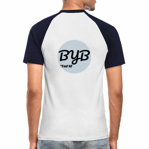 Bend your Bike LOGO - T-shirt baseball manches courtes Homme