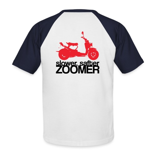 Slower faster zoomer - T-shirt baseball manches courtes Homme
