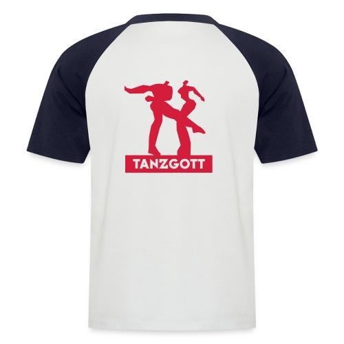 tanzgott - Männer Baseball-T-Shirt