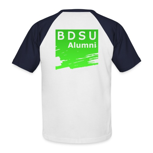 BDSU Alumni Logo - Männer Baseball-T-Shirt
