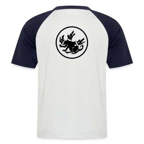cerberus logo rund - Männer Baseball-T-Shirt