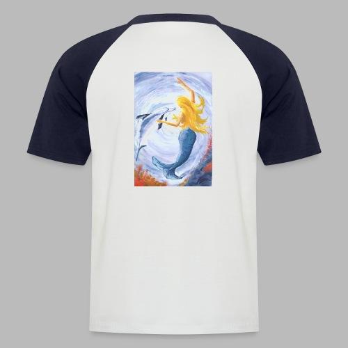 Mermaids Bild - Männer Baseball-T-Shirt