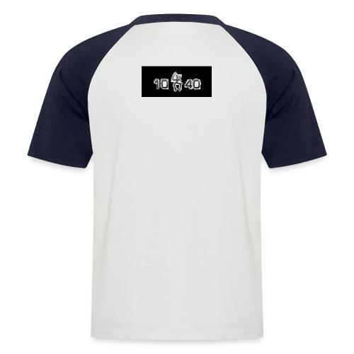 10 40 geil - Männer Baseball-T-Shirt