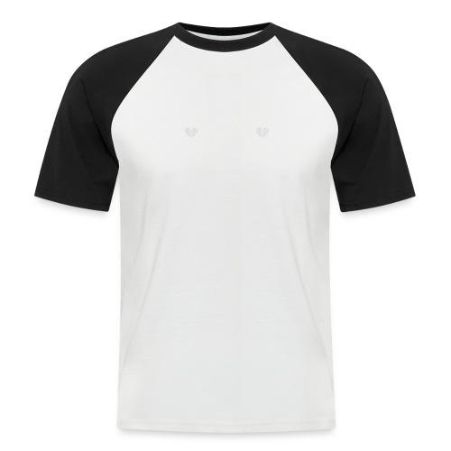 Telemark frise Scandinave white - T-shirt baseball manches courtes Homme