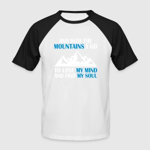 Love Mountains - berge - Männer Baseball-T-Shirt