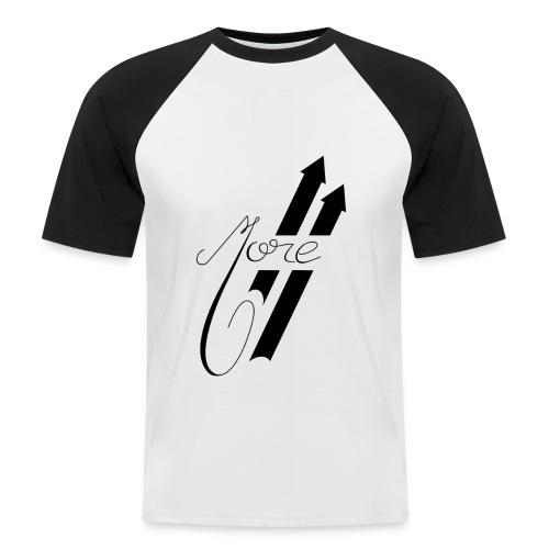 More : Faites Plus - T-shirt baseball manches courtes Homme