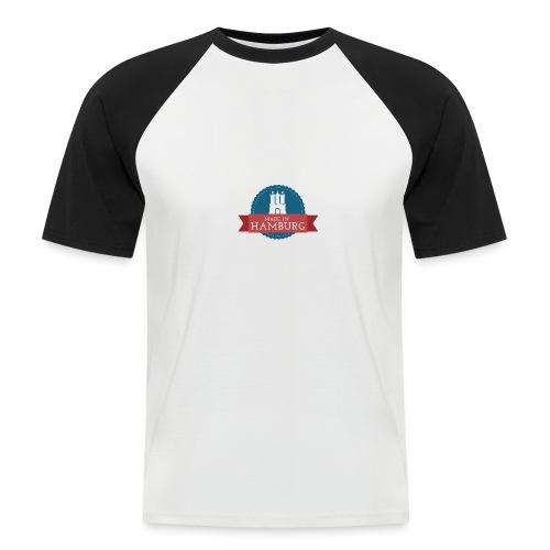Made in Hamburg - Männer Baseball-T-Shirt