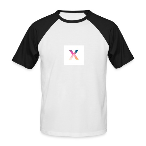 "Xpert ""X"" Logo - Men's Baseball T-Shirt"