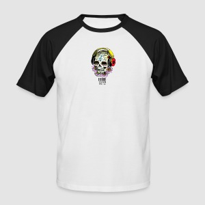 smiling_skull - Men's Baseball T-Shirt