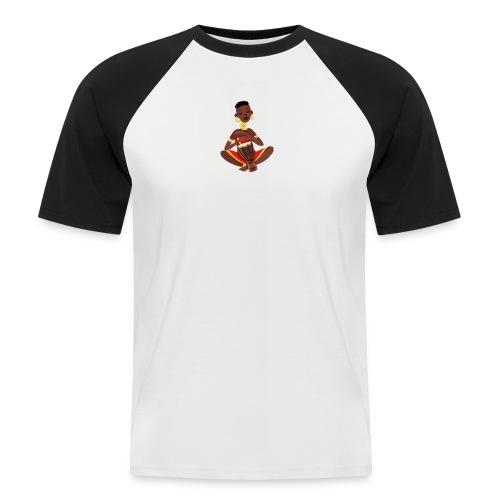 afrikan tee - Kortærmet herre-baseballshirt