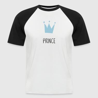 Prins Prince krone - Kortærmet herre-baseballshirt